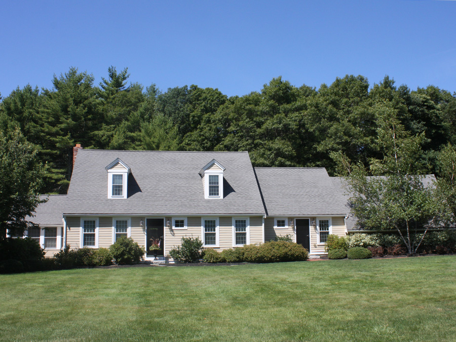 Mouzer construction done right weather tight for Dormered cape